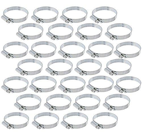 Spares2go Rohrschelle aus Stahl, 100-120mm, erhältlich als 1er-, 2er-, 5er-, 10er-, 20er- oder 30er-Pack, 30 Pack -