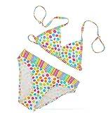 Lorin Mädchen-Bikini, zweiteiliger Badeanzug, Strandkleidung, 7-13Jahre. Gr. 12-13 Jahre, mehrfarbig