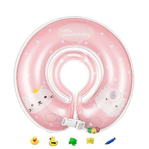 apig-rosa-salvagente-bambini-di-doppio-airbag-galleggiante-collo-ispessita-regolabile-per-bambini-0-