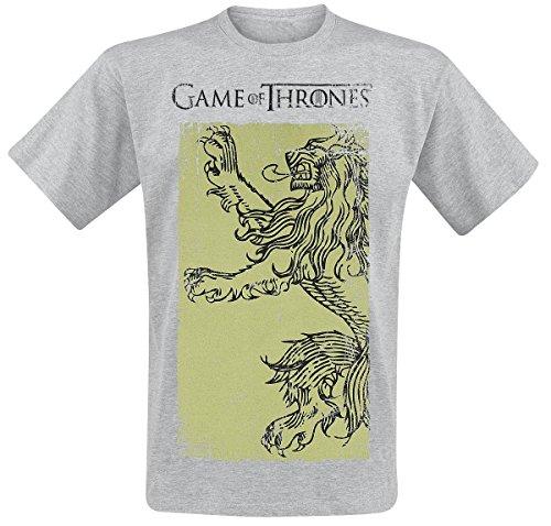 Game Of Thrones Lannister Gold T-Shirt grau meliert Grau Meliert