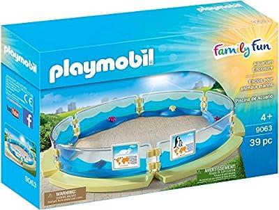 Playmobil 9063 - Jeu - Enclos Animaux Marins