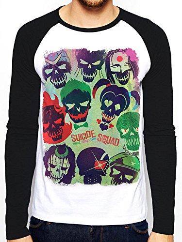 C.I.D. Men's Suicide Squad-Poster T-Shirt