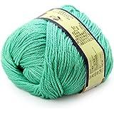 Bébé fil fabriqué Drap 50g Pull en cachemire chaud lisse doux tricoté en laine à tricoter