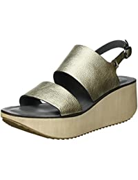 Lili Mill AIRIN Sandali Punta Aperta Donna amazon-shoes grigio