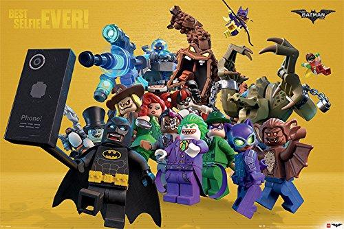 DC Universe Poster Lego Batman - Best Selfie Ever - 91.5 x 61 cm | PostersDE