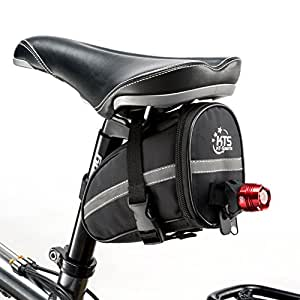 Cycling Saddle Bag Bike Waterproof Seat Pouch Storage Bike NEW From UK Stock