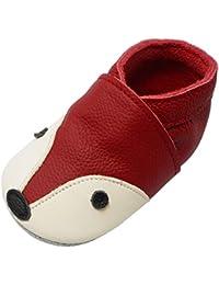 YIHAKIDS Bébé Filles Garçons Chaussures Cuir Souple Enfant Chaussons Cuir  Doux Chaussures ... 25367105529