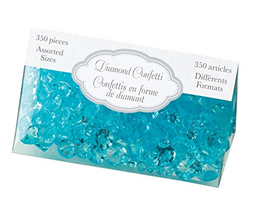 Lillian Rose Diamant Confetti, Aqua