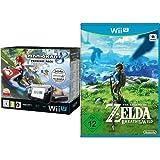 Nintendo Wii U Premium Pack schwarz, 32GB inkl. Mario Kart 8 (vorinstalliert) & The Legend of Zelda: Breath of the Wild - [Wii U]