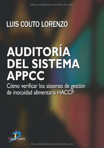 Auditoria Del Sistema Appcc por Luis Couto Lorenzo