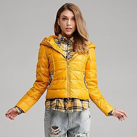 WJP donne ultra leggero rivestimento Packable gi? Outwear tampone piumino W-948