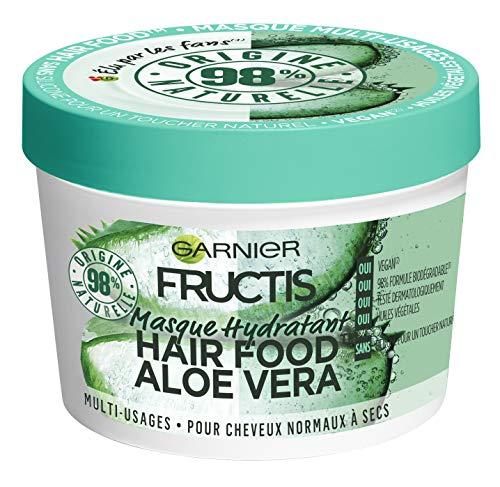 Garnier Fructis Hair Food Mehrzweck-Maske, Aloe, 390 ml, 3 Stück (Garnier Fructis Maske)