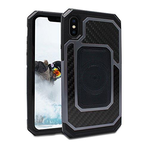 Rokform 532605 Schutzhülle für Apple iPhone X Gun Metal