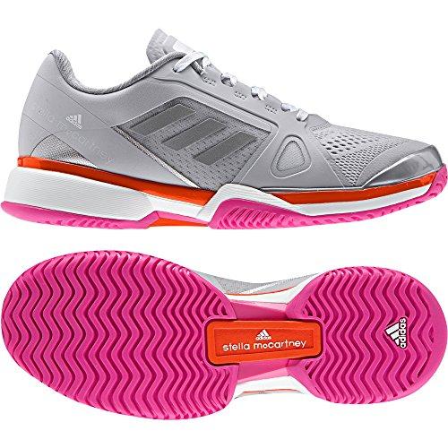 adidas Asmc Barricade 2017 BY1620, Scarpe da Tennis Donna, Grigio (Grpulg/Blanco/Narrad 000), 40 1/3 EU