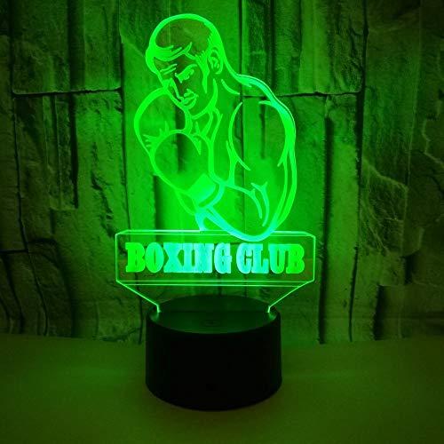 3D Lampe Leuchte LED Stimmungslicht Boxen 7 Farben Touch-Schalter Ändern Nachtlicht Für Schlafzimmer Hochzeit Weihnachten Valentine Geburtstag Geschenk