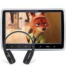 Poggiatesta lettore DVD, DDAUTO Ultra Sottile LCD