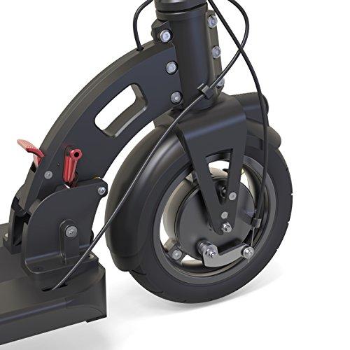 INOKIM Light 2 Super Erwachsener Elektroroller, schwarz, 106x110x47cm