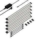 parlat LED Unterbau-Leuchte SIRIS, flach, je 50cm, 400lm, warm-weiß, 5er Set