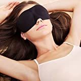 Project Best You –Atmungsaktive Schlafmaske für Damen und Herren, für den täglichen Gebrauch und Reisen, verhindert trockene Augen, verbessert den Schlaf, schirmt Licht ab, ohne die Augen zu berühren