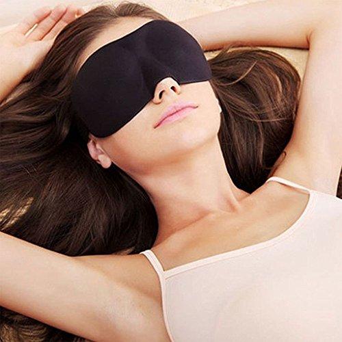 (Project Best You –Atmungsaktive Schlafmaske für Damen und Herren, für den täglichen Gebrauch und Reisen, verhindert trockene Augen, verbessert den Schlaf, schirmt Licht ab, ohne die Augen zu berühren)