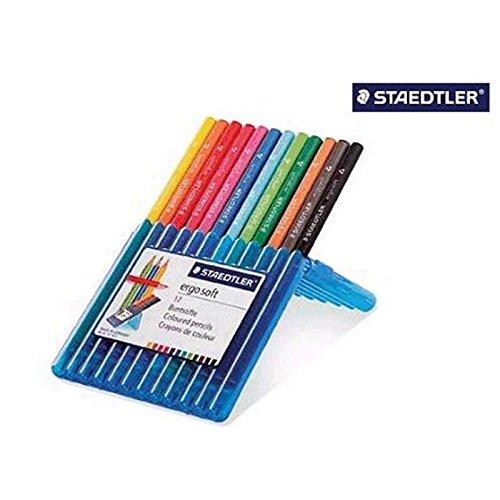 STAEDTLER Ergosoft® 24er Buntstifte Set + Zeichenblock GRATIS!