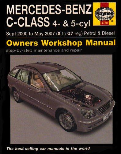 mercedes-benz-c-class-petrol-and-diesel-service-and-repair-manual-2000-to-2007-service-repair-manual