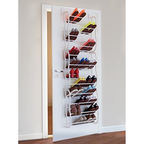 Artmoon ARC über Tür hängendes Schuhregal Extra große Schuhablage für 36 Paare