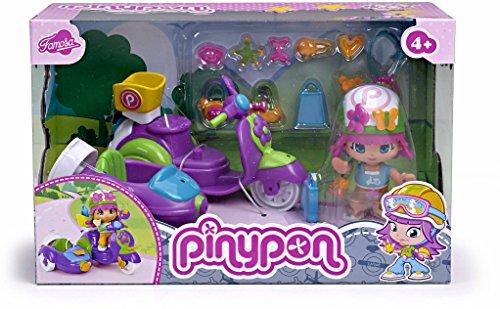 Pinypon PYP Figura con Moto con Sidecar (Famosa 700010682)