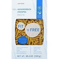 FIT 'n' FREE Bio Kichererbsen Pasta, 3er Pack (3 x 300 g)