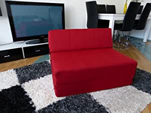 Bazyl chauffeuse 118 x 190 x 15 cm-canapé