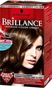 Schwarzkopf - Colorations Brillance Brunes 862 - Couleur : Châtain Naturel