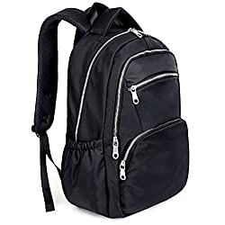 Uto Laptop Backpack Oxford Waterproof Cloth Nylon Unisex Rucksack School College Bookbag Travel Bag Shoulder Purse