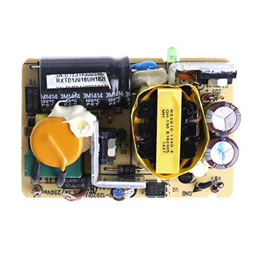 JimTw-DE AC -DC 12V 2A 2000MA Switch Power Supply Module Voltage Regulator Circuit Board -
