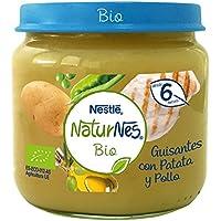 NESTLÉ NATURNES BIO puré Guisantes con Patata y  Pollo 6 x 200 g