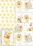 Disney Winnie The Pooh Baby Gift Wrap & Tissue Paper Pack