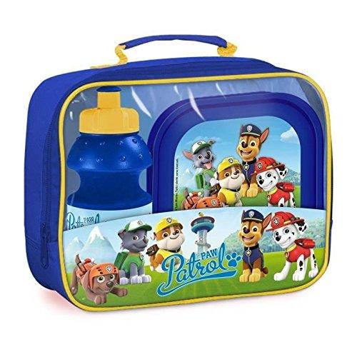 Kinder, mit Lunchbox und Flasche ()