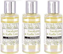 Rosemoore Pure Aroma Diffuser Scented Oil Eucalyptus & Kaffir Lime Pack of 3