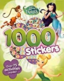 Disney Fairies (Tinkerbell): Colouring and Activity Book With 1000 Stickers!