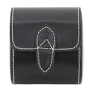 Uhr Uhrenbox Für Schwarz Leder 1 nPkw0O