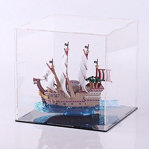 Un conjunto completo de adornos juguetes animación vecina modelo de barco pirata Pedazo pelirrojo Shanks Red Voss No.