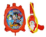 #9: Jiada Officialy Licensed Holi Pressure Water Gun Pichkari Tank Squirter by Gifts Online | 1.25 Litre (Mickey Mouse)