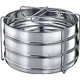 Prestige Stainless Steel Utensil Medium Set, 19cm, Set of 3 (60497)