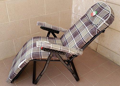 Sedie A Sdraio Imbottite : Metal far sedia poltrona sdraio metallo interno esterno imbottita