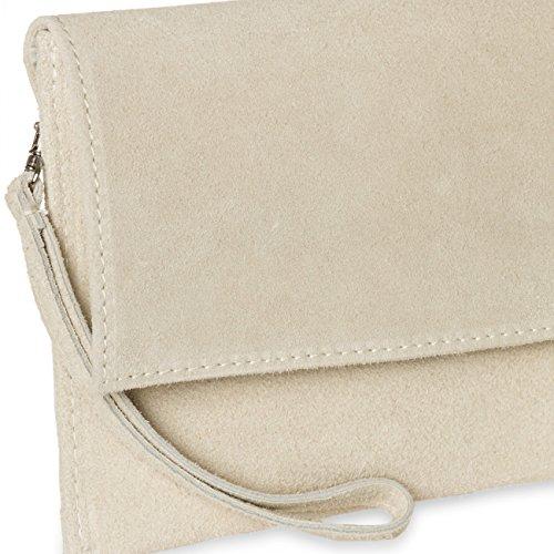 CASPAR Fashion, Poschette giorno donna Beige (hell beige)