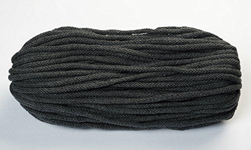 BW-Kordel, 50 Meter, 6mm dick mit Kern, 23-Dunkelgrau