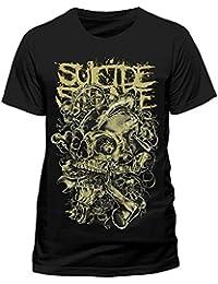 Suicide Silence Men's T-Shirt Mens Gear Head