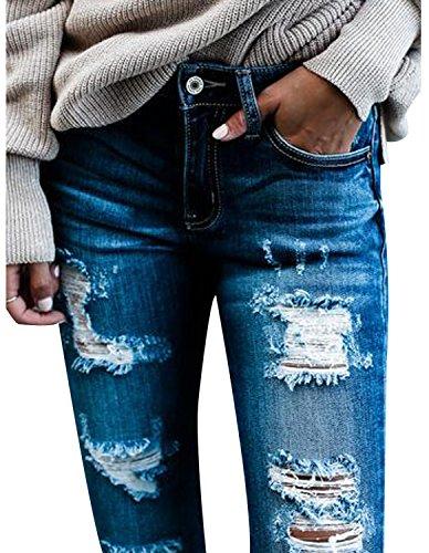 Burvogue -  Jeans  - Donna Blue