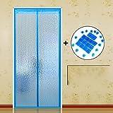 platten Fliegengitter für Fenster, sommer winddicht - türen mit magneten mesh - vorhang-G-120x210cm(47x83inch)