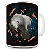 Twisted Envy Space Bacon Manatee Ceramic Mug