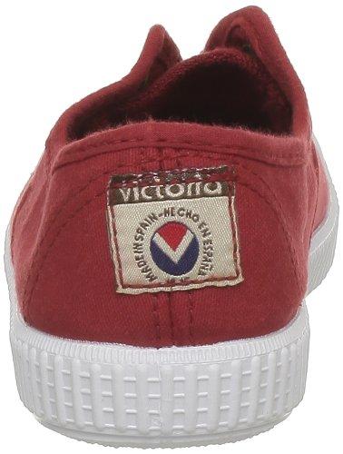 VictoriaInglesa Lona Tenida Punt - Basse Unisex - Bambini Rosso (rosso)